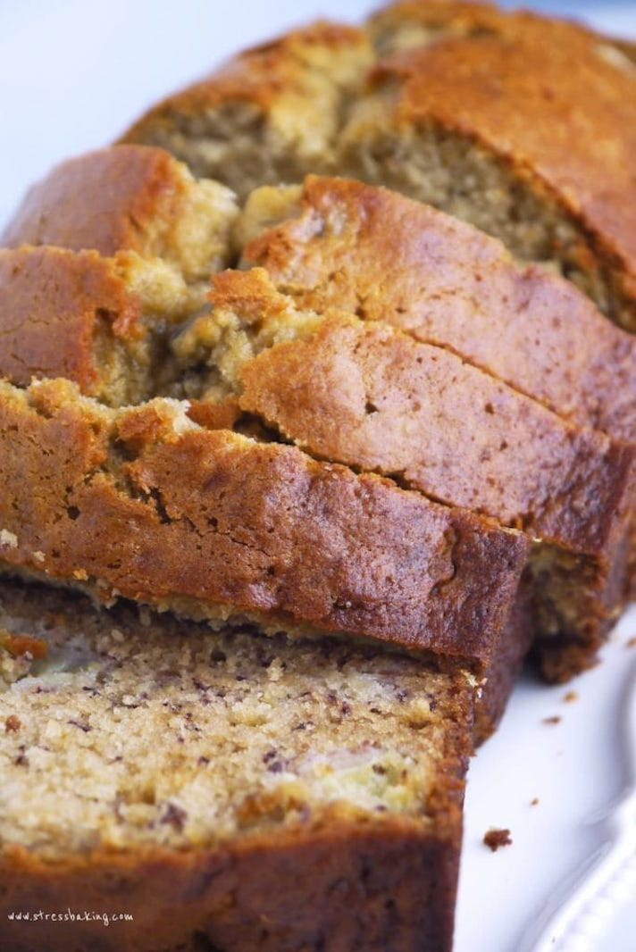 STYLECASTER | 17 Easy Quick Breads That You Really Can't Mess Up | Perfect Banana Bread