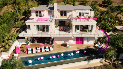 Hold the Damn Phone—You Can Airbnb *the* Barbie Malibu Dreamhouse for Only $60 a Night | StyleCaster