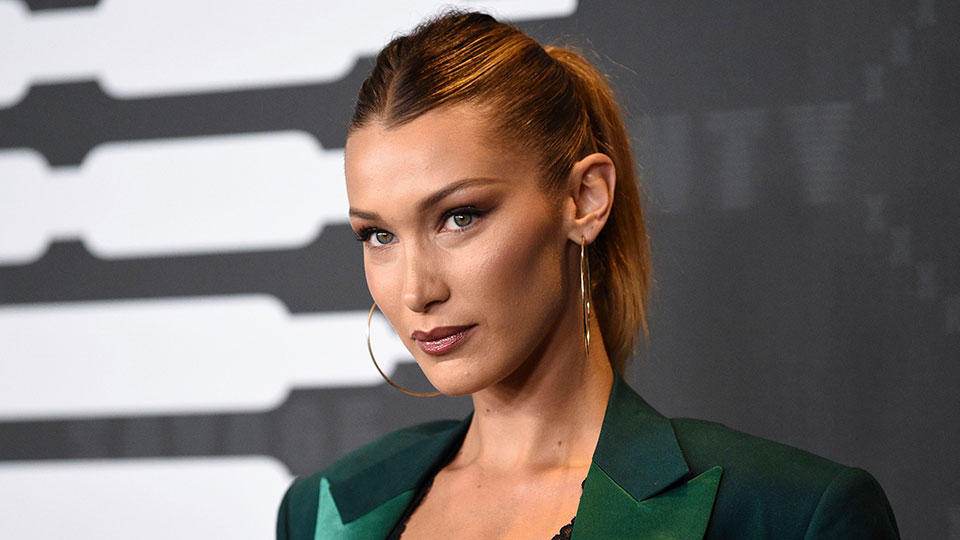 Bella Hadid Cut Her Own Bangs in Isolation and It Actually Worked