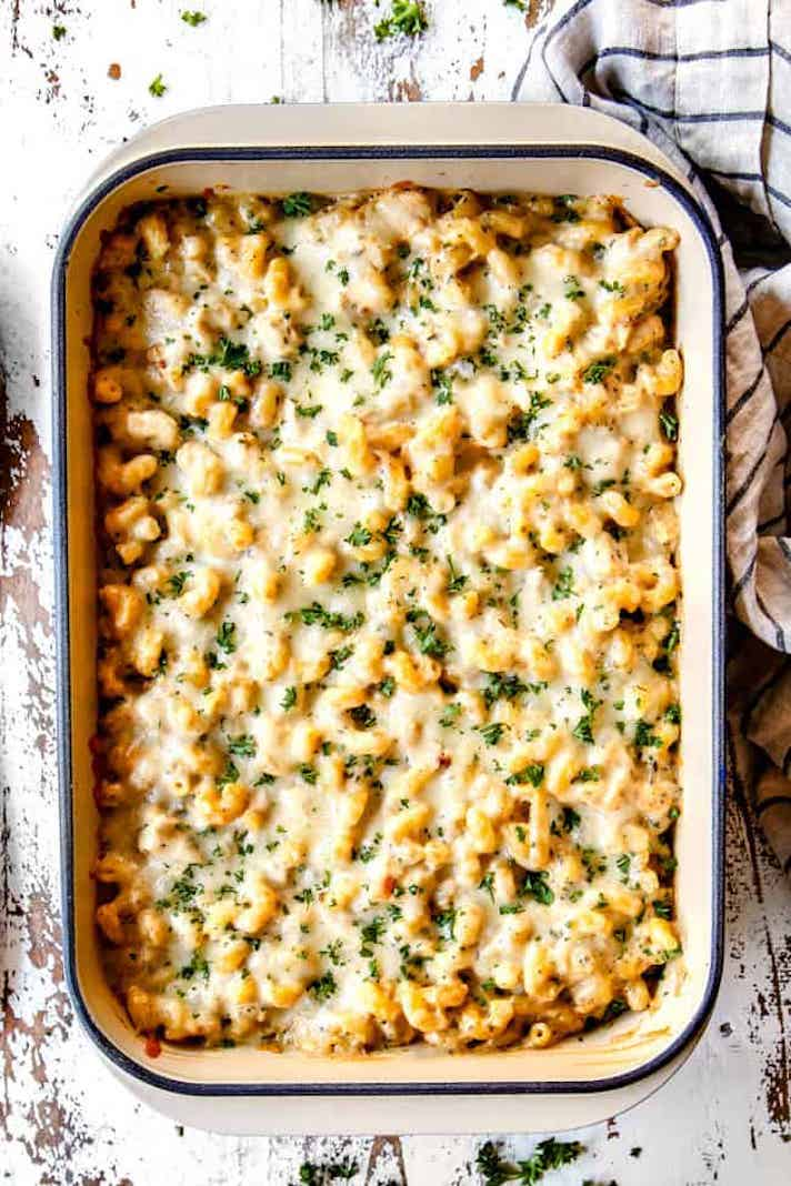 STYLECASTER   Easy Weeknight Chicken Recipes That Are Perfect for Fall   Chicken Alfredo Bake