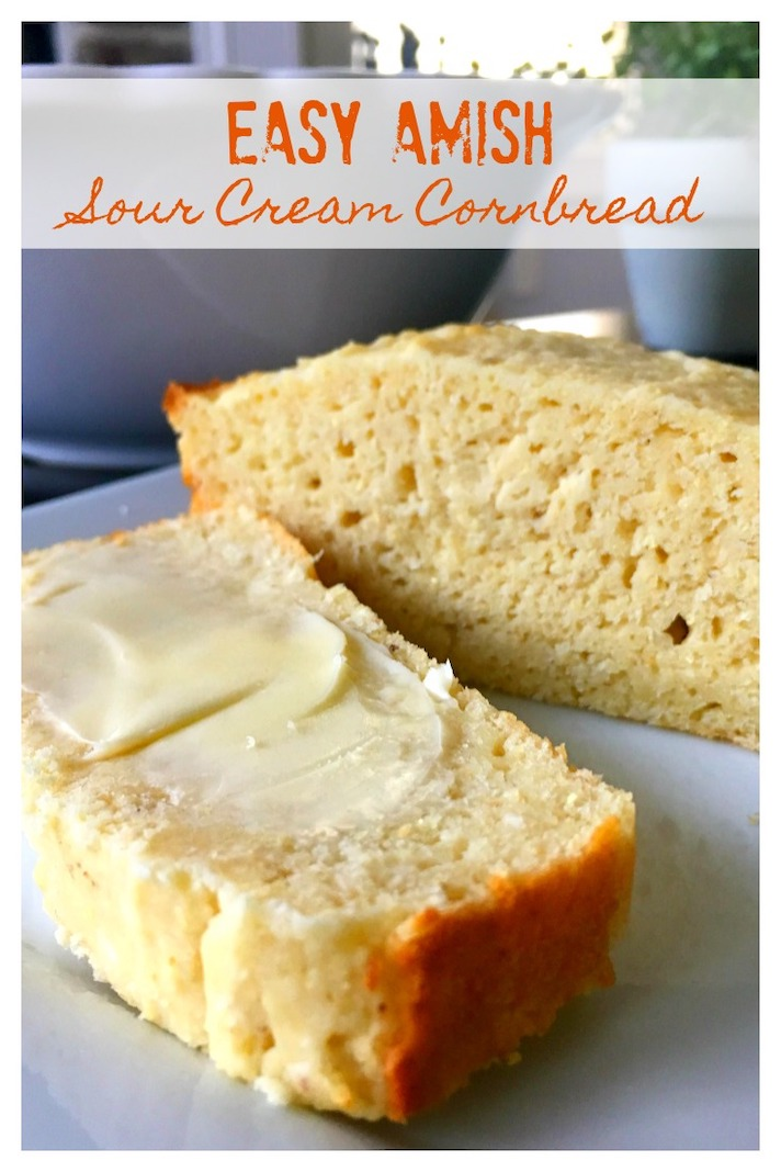 STYLECASTER | Easy Quick Breads That You Really Can't Mess Up | Easy Amish Sour Cream Cornbread