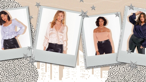 57 Long-Sleeve Going-Out Tops to Add to Your Night-Out Wardrobe, Stat | StyleCaster