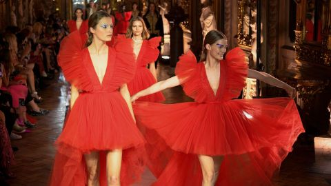 We *Finally* Got a Look at the H&M x Giambattista Valli Runway, & It's Worth the Wait | StyleCaster