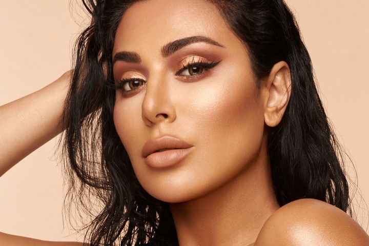 Huda Beauty Is Launching 3 Nude Eyeshadow Palettes and Here's How They're Different