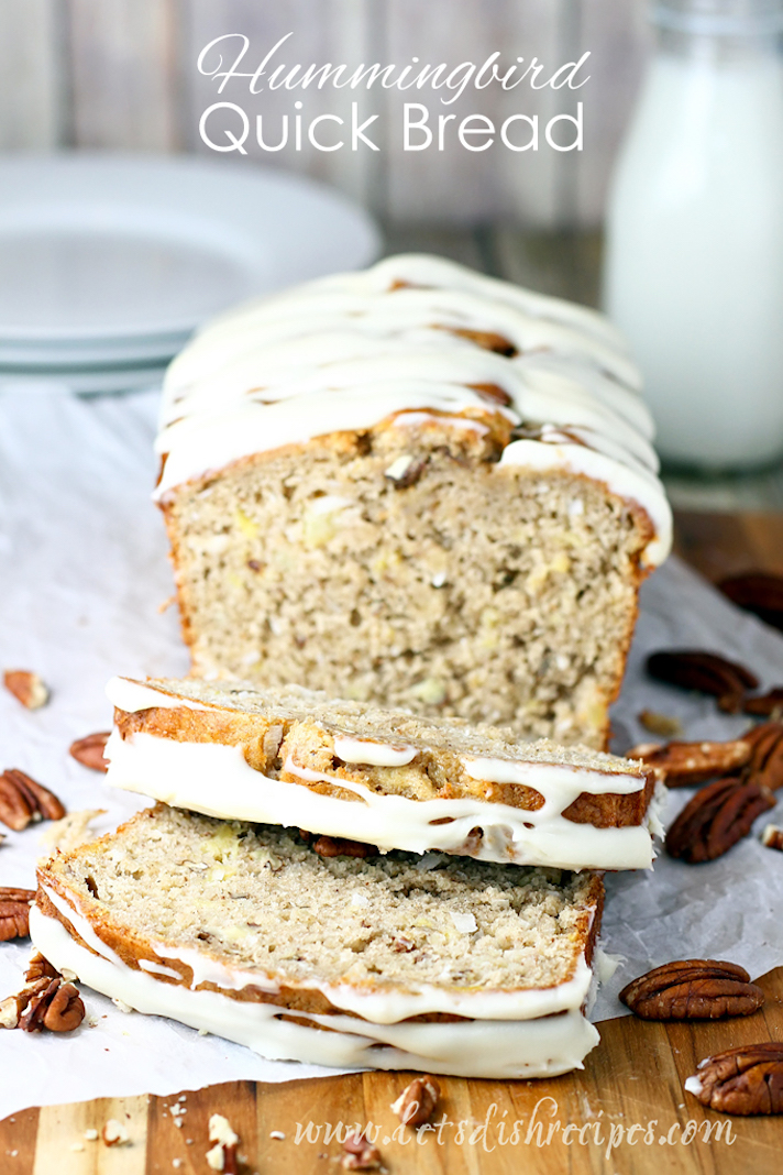 STYLECASTER | 17 Easy Quick Breads That You Really Can't Mess Up | Hummingbird Quick Bread
