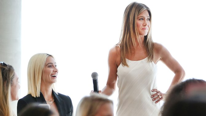 jennifer aniston aveeno 1 How Jennifer Aniston Uses Down Time To Conjure Don't Eff With Me Energy