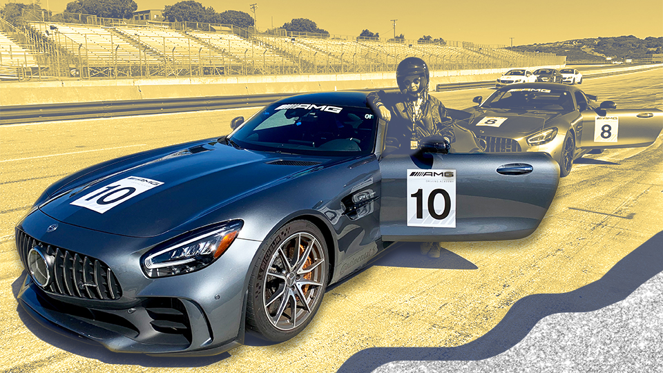 Here's What I Learned While Driving a Mercedes-Benz Race Car at 100 MPH