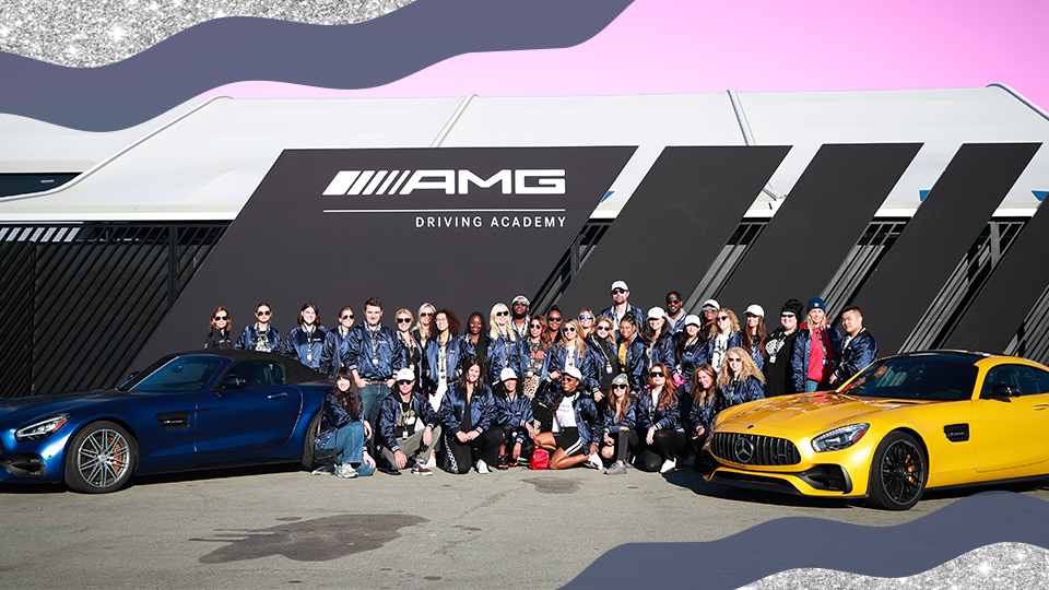 STYLECASTER | Glamour And Mercedes-Benz AMG Driving Academy Experience At Laguna Seca