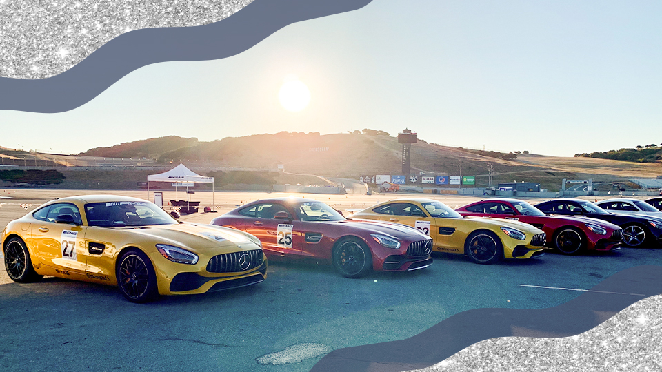 STYLECASTER | Mercedes-Benz AMG Race Cars at Laguna Seca Raceway