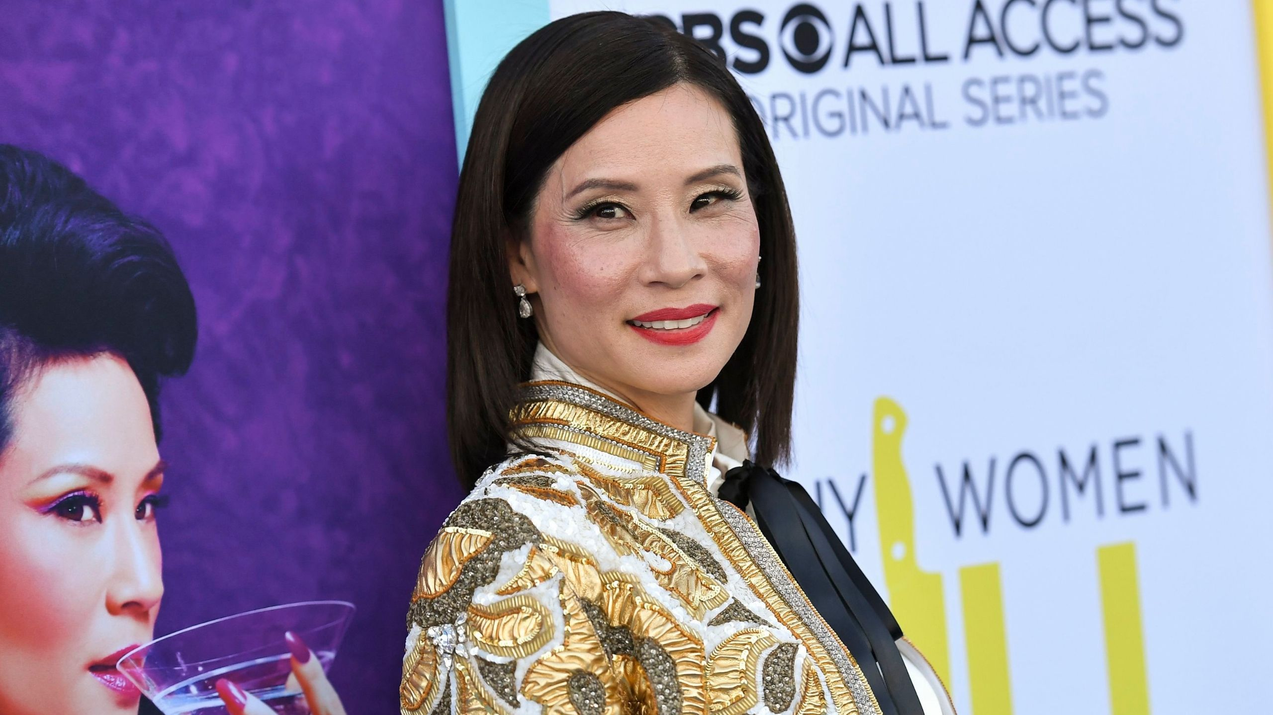 Lucy Liu Just Joined the Celeb Bob Club