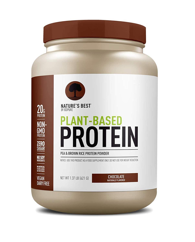 Proteína em pó de base vegetal que não tem gosto de planta real |  STYLECASTER