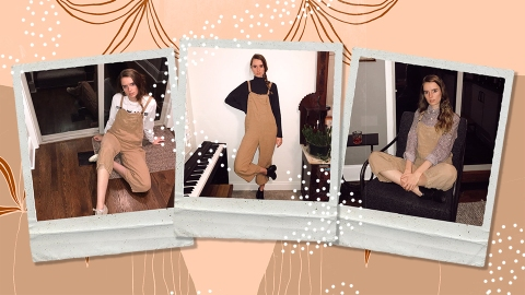 I'm Infinitely Obsessed with These Scandi-Style Overalls That Go With Everything | StyleCaster