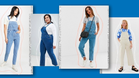 Long Denim Overalls Are a Romantic Addition to Any Fall Wardrobe | StyleCaster