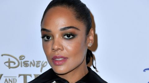 Tessa Thompson Wore Ribbons In Her Ponytail and I'm Dying to Try It Myself | StyleCaster