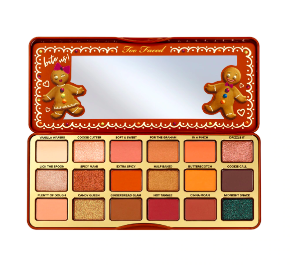 too faced extra spicy palette Don't Leave These Too Faced Gingerbread Palettes In Your Kitchen