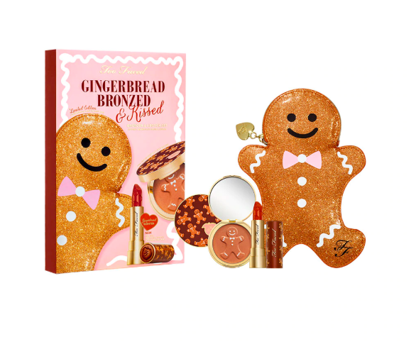too faced gift set Don't Leave These Too Faced Gingerbread Palettes In Your Kitchen