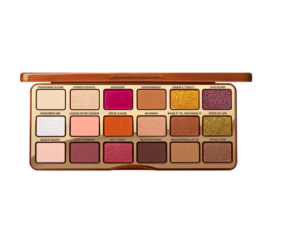 too faced spicy palette Don't Leave These Too Faced Gingerbread Palettes In Your Kitchen
