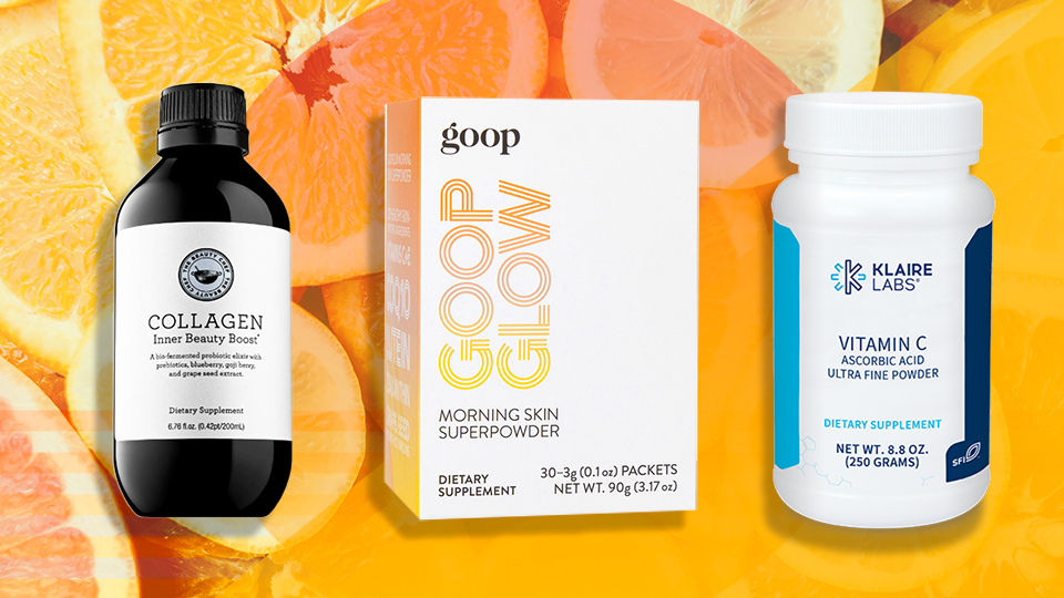 Eat and Drink Your Way to Glowy Skin With These Vitamin C Supplements