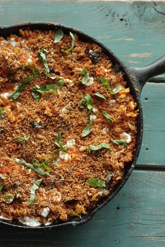 STYLECASTER | comfort food recipes | skillet pasta