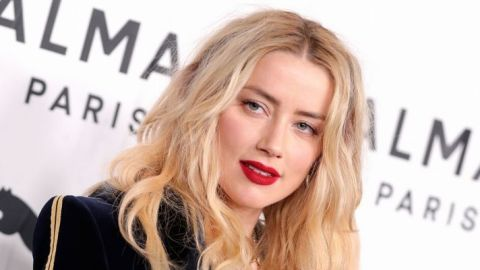 I Need All the Tea on Amber Heard's Perfect Red Lipstick   StyleCaster