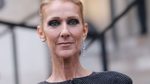 Celine Dion Looks Like a Tiffany Blue Big Bird in This Outfit, & I'm Legit Screaming   StyleCaster