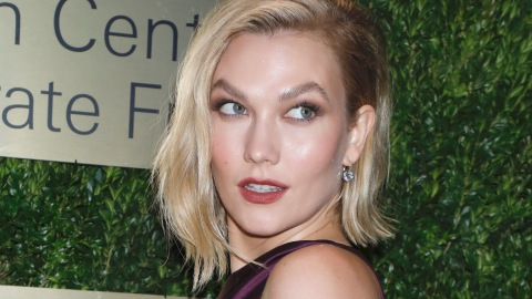 Karlie Kloss Has Officially Perfected the Casual Suit and Sneakers Look | StyleCaster