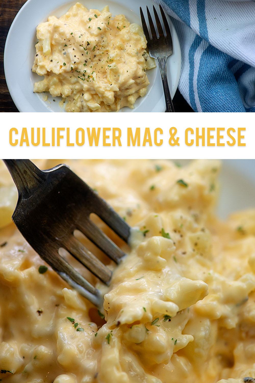 STYLECASTER | comfort food recipe | cauliflower mac and cheese