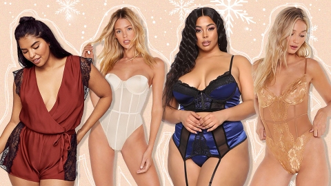 Shiny, Sparkly Lingerie Is the Sexiest Way to Ring in the Holidays | StyleCaster
