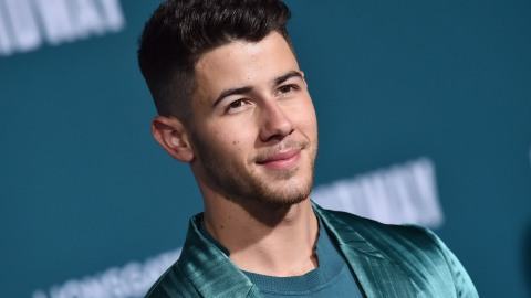 Nick Jonas Wearing a Metallic Teal Suit Just Cleared My Acne and Paid My Student Loans | StyleCaster
