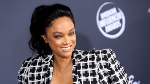 Tyra Banks' Sexy Suit and Bra Look Has My Jaw on the Floor | StyleCaster