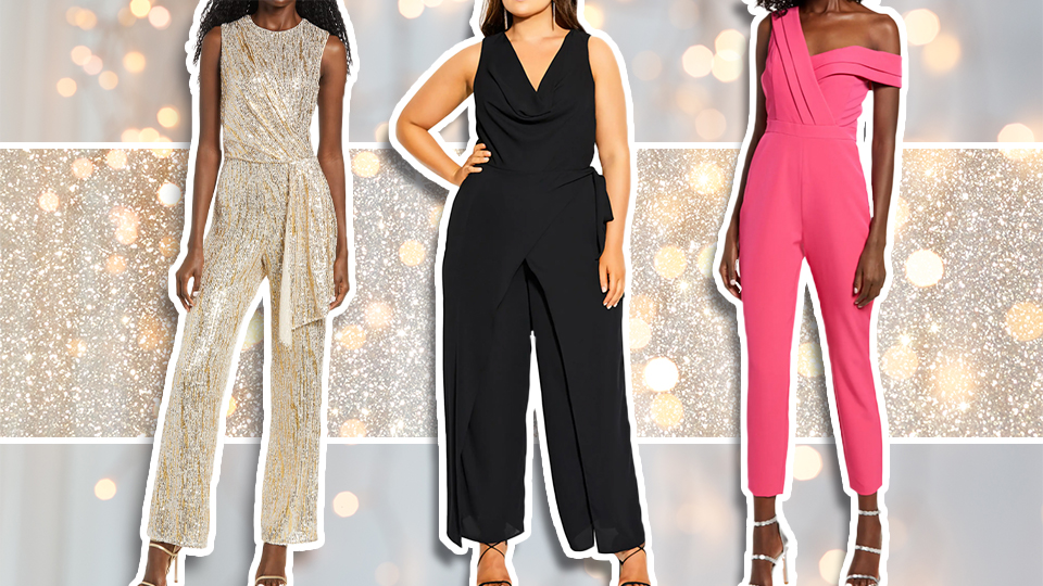 Holiday Jumpsuits Are the Festive Staple No Closet Is Complete Without