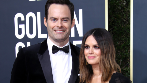 Bill Hader & Rachel Bilson Attended the Golden Globes Together & We Can't Help But Stan | StyleCaster