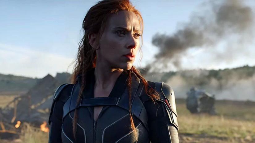 Scarlett Johansson in Marvel's 'Black Widow'