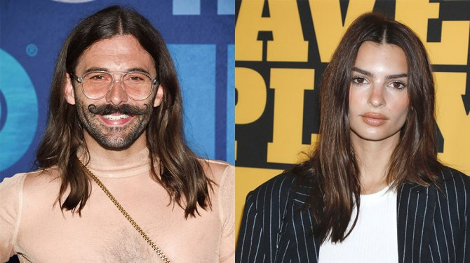 jon van ness emily ratajkowski 1 This Pinterest Stat is Proof That Beauty Trends Are Breaking Free of Gender Norms