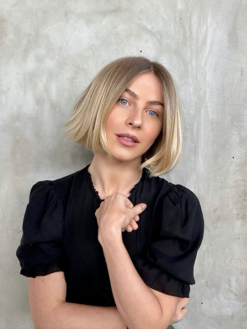Julianne Hough Short Bob Is So Chic And On Trend Stylecaster