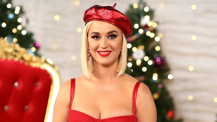Katy Perry Has Festive Candy Cane Eyeliner in New Music Video