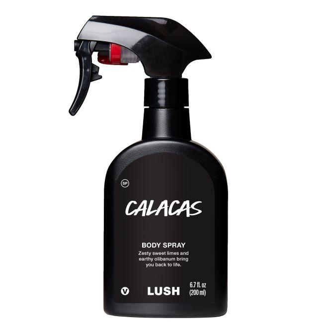 lush calacas body spray