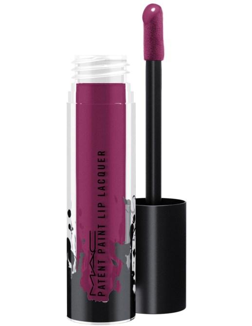 mac patent paint lip