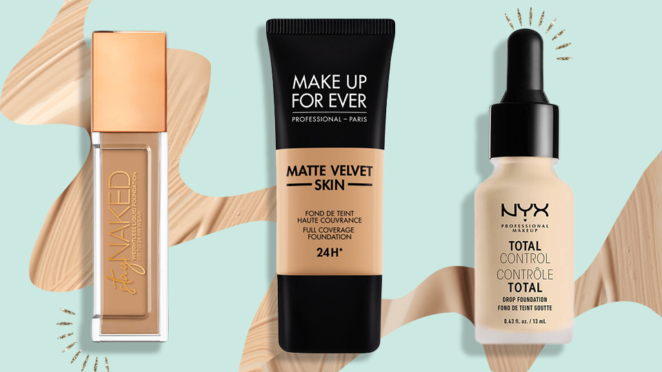 full coverage foundation for combination skin