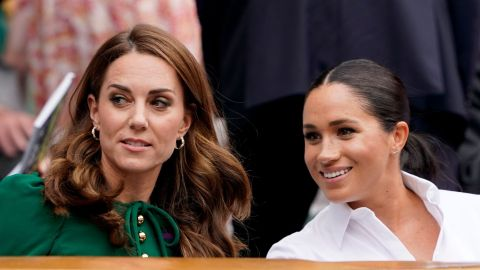 Kate Middleton Is Reacting 'Badly' to Meghan Markle & Prince Harry's Final Royal Exit | StyleCaster