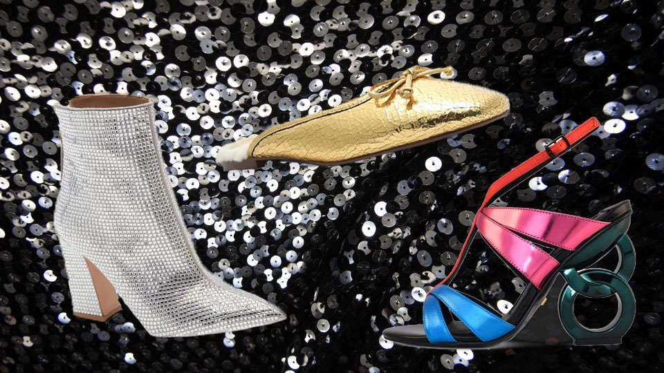 Truly Stunning Statement Shoes Perfect For Any New Year's Eve Party