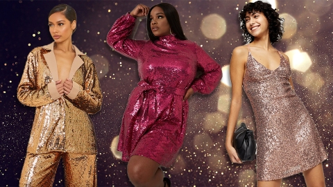 Sequins, Sequins & More Sequins: A Shiny AF New Year's Eve Shopping Guide | StyleCaster