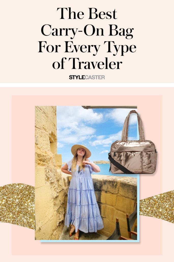 STYLECASTER | best carry on bag |  carry on bag | carry on luggage | carry on | best bags | luggage | travel bags | stylish carry on bag | carry on bag tote
