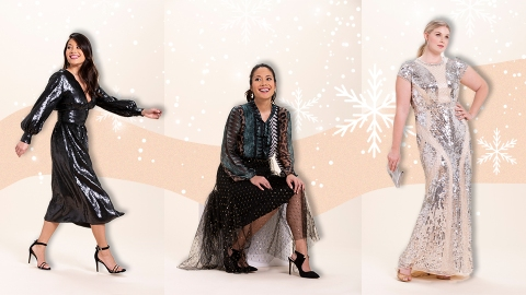 These 7 Last Minute Holiday Outfit Ideas from T.J.Maxx Are Head-to-Toe Luxe (Yes, Really) | StyleCaster