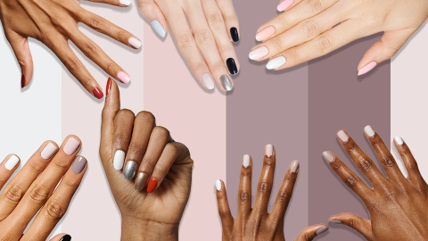 Mesmerizing Tonal Nail Art Inspo For When You Can't Pick Just One Color | StyleCaster