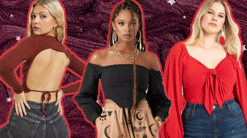 14 Going-Out Tops You Can Wear Even When It's Freezing Outside | StyleCaster