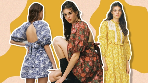 UO's Latest Laura Ashley Drop Proves Florals for Winter Are All Kinds of Groundbreaking | StyleCaster