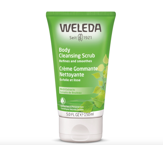 weleda body cleanser