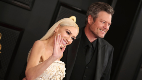 Blake Shelton & Gwen Stefani Continue to Fuel Engagement Rumors at the Grammys | StyleCaster