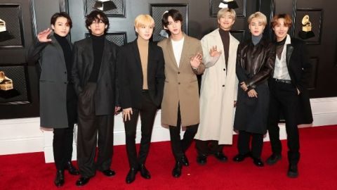 We Totally Missed BTS Drop These Clues About Their Upcoming Album at the Grammys | StyleCaster